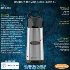 Garrafa Térmica Inóx Lúmina 1 L
