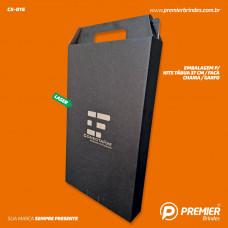 Embalagem p/ Kits Tábua 37 cm/ Faca / Chaira / Garfo