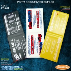 Porta Documentos Simples
