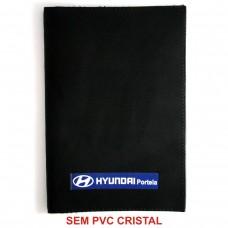 Porta Manual em Couro Sintético Preto 19 x 27,5 cm (SEM CRISTAL)