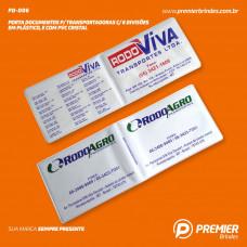 Porta Documentos p/ TRANSPORTADORA c/ 6 Divisões