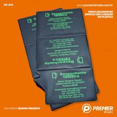 Porta Documentos Simples com 3 Divisão