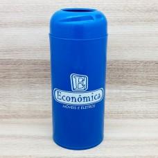 Porta Garrafas em Plástico 1 Litro Azul