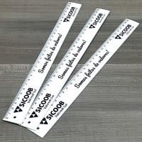 Sicoob Régua Rígida em PVC 30 cm