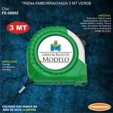 Trena Emborrachada 3mt Verde